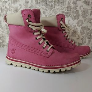 Timberland Earthkeepers Brookton 6-Ink Pink Boots